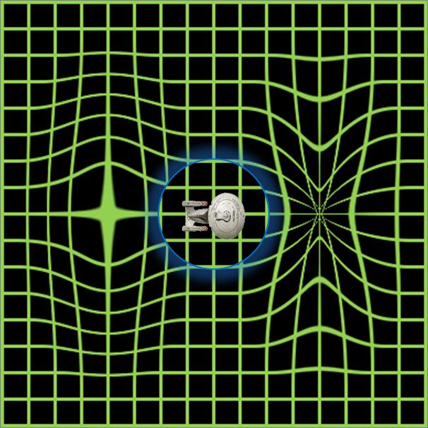 Star trek - campo di curvatura