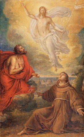 Gesù Risorto con S.Antonio e S. Giovanni