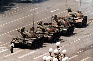 I carrarmati di Piazza Tienanmen